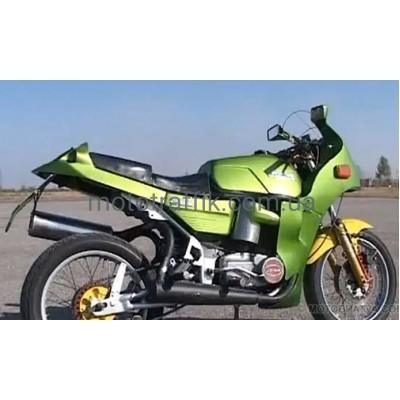 Спортивный тюнинг мотоцикла Ява