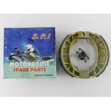 Колодки барабанного тормоза Honda (Хонда) Lead 50/90/Дельта (Delta)/GY6-50/ 60/80/Альфа (Alpha)/Актив SPI (тайвань)