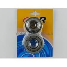 Подшипники руля комплект 4т GY6-125/150сс (125 - 150 кубов) (роликовый) конус TVR