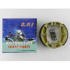 Колодки барабанного тормоза Suzuki (Сузуки) Address/Sepia/Mollet 50cc (50 кубов), SPI (тайвань)