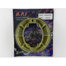 Колодки барабанного тормаза 4т GY6-50/150сс,13 колесо, SЕЕ (тайвань)