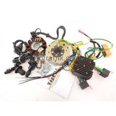 CDI БСЗ Электронное зажигание 634-6V Ява без АКБ 200v