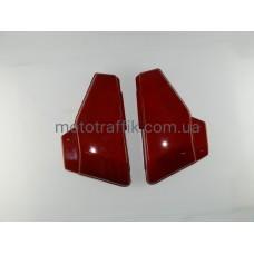 Пластик средних боковин Альфа (Alpha) красные (пара)
