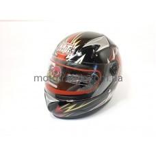 Шлем  детский черный Мототеч